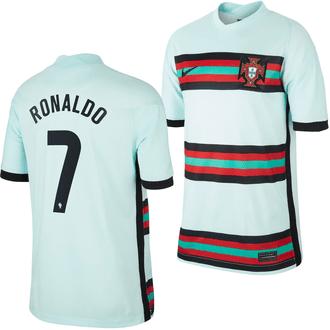 Nike Ronaldo Portugal 2020-21 Youth Away Stadium Jersey