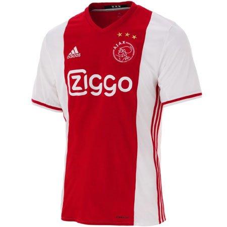 hot sale online e075a 7f96f adidas Ajax Home 2016-17 Replica Jersey | WeGotSoccer.com