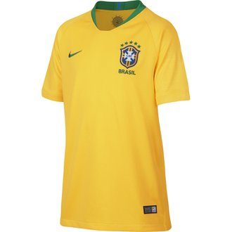 Nike Brazil 2018 World Cup Home Youth Stadium Jersey