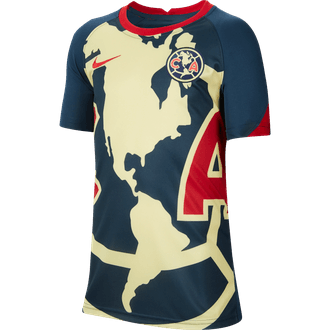 Nike Youth 2020-21 Club America Pre-Match Jersey