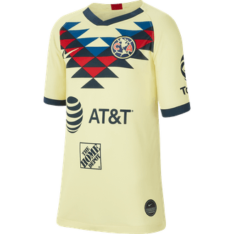 Nike Club America 2019 Home Youth Stadium Jersey