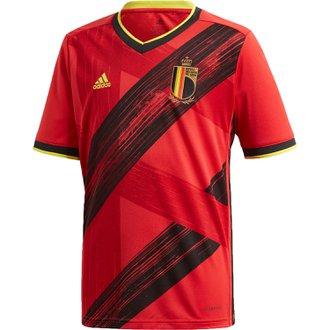 adidas Belgium 2020 Home Youth Stadium Jersey
