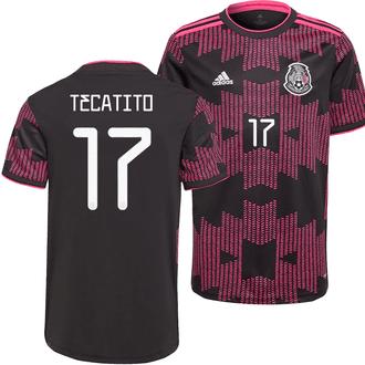 adidas Tecatito Mexico 2021 Home Stadium Jersey