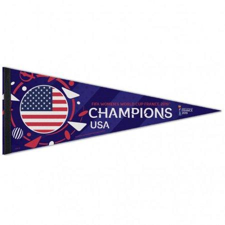 WinCraft USA Banderín de campeones de la Copa del Mundo 2019 - 12