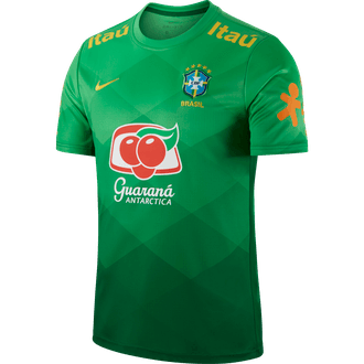 Nike Brasil 2020-21 Camiseta pre-partido para Hombres