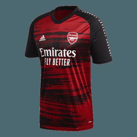 Adidas 2020-21 Arsenal Camiseta pre-partido