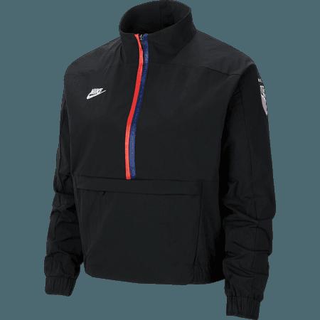 Nike 2020 USA Chaqueta con cremallera de un cuarto para mujer