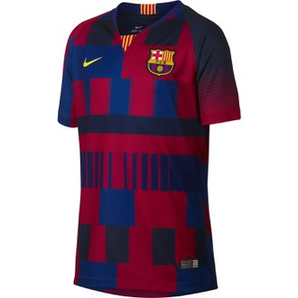 Nike FC Barcelona Home 20th Anniversary Youth Stadium Jersey