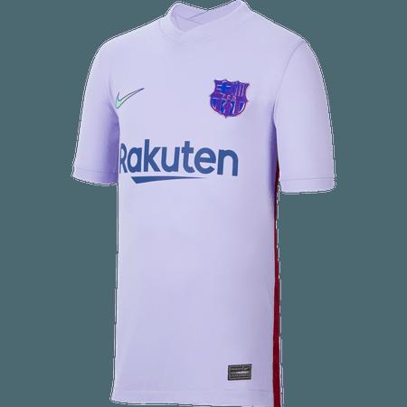 Nike FC Barcelona Away 2021-22 Youth Stadium Jersey