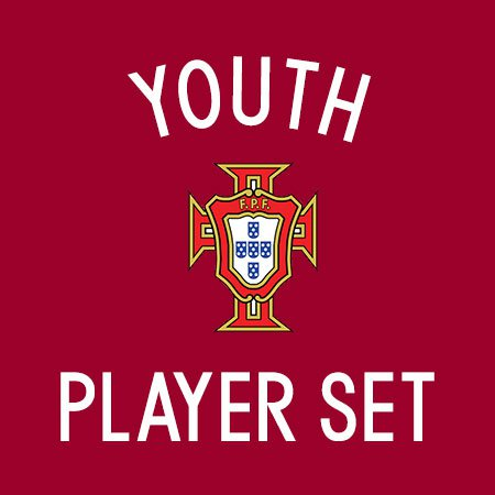 Portugal 2016 Youth Player Set