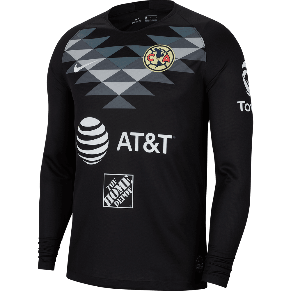 Nike Club America 2019 20 Goalkeeper Long Sleeve Jersey Wegotsoccer Com