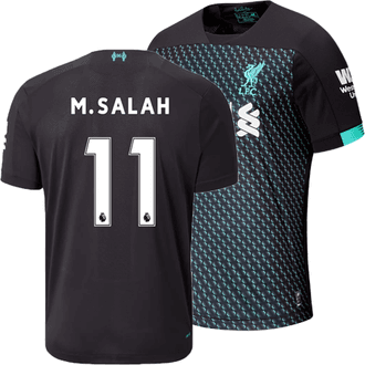 New Balance Liverpool Salah Third 2019-20 Replica Jersey