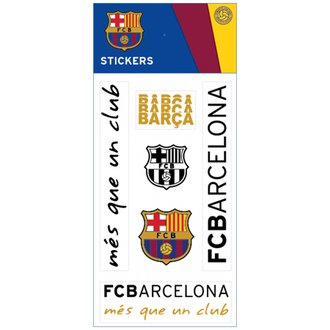 FC Barcelona Sheet Stickers