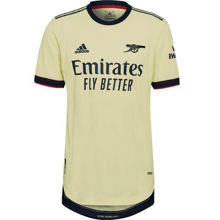 adidas Arsenal Away 2021-22 Authentic Match Jersey