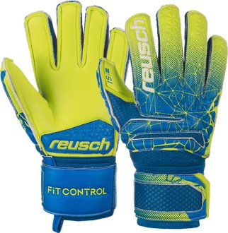 Reusch Kids Fit Control S1 Finger Support Goalkeeper Gloves