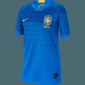 Nike Brazil Jersey de Visitante 2019 para Niños