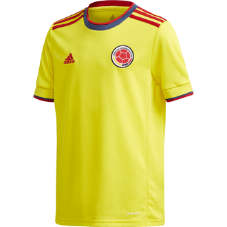 Adidas 2021 Colombia FCF Home Youth Stadium Jersey