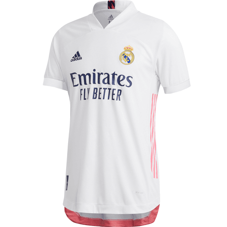 adidas Real Madrid 2020-21 Men's Home Authentic Jersey | WeGotSoccer