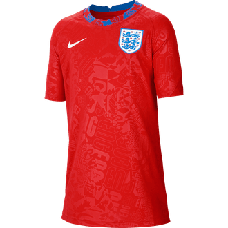 Nike Youth England Short Sleeve Pre-Match Top
