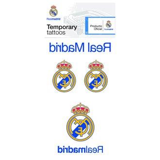 Real Madrid Temporary Tattoos