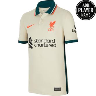 Nike Liverpool Jersey de Visitante 21-22 para Niños