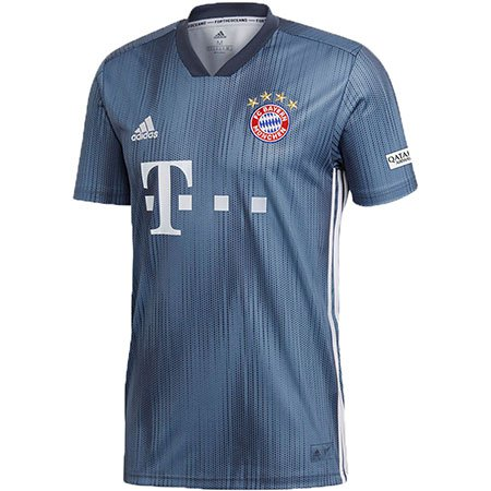 pretty nice f00e2 e0d29 adidas Bayern Munich James Third 2018-19 Replica Jersey ...