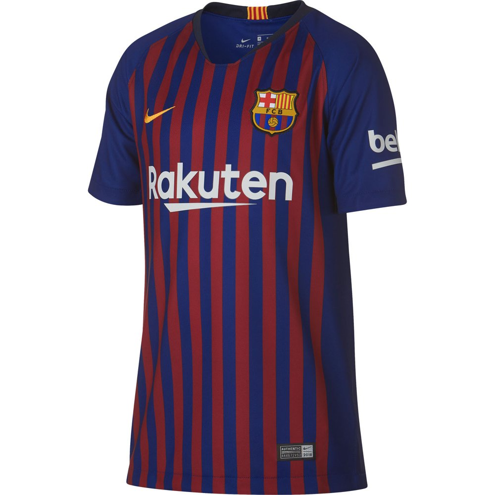 best service d962b ac387 Nike FC Barcelona Home 2018-19 Youth Stadium Jersey ...