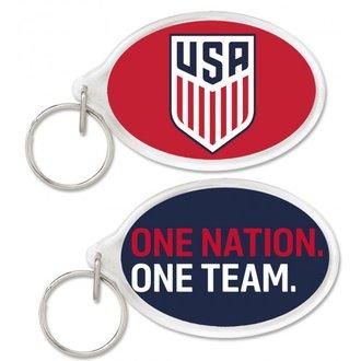 WinCraft USA Acrylic Oval Key Ring