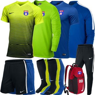 NEFC New Boys GK Required Kit