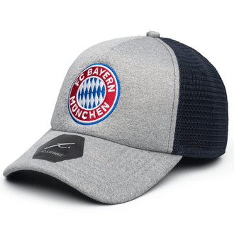 Fan Ink Bayern Sombrero de camionero Grayline