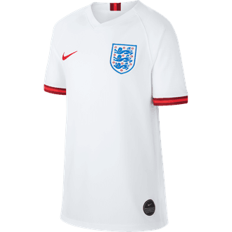 Nike England 2019 Home Youth Stadium Jersey