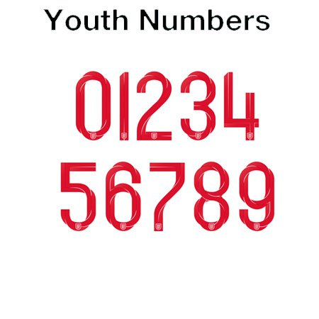 England 2018 Youth Numbers