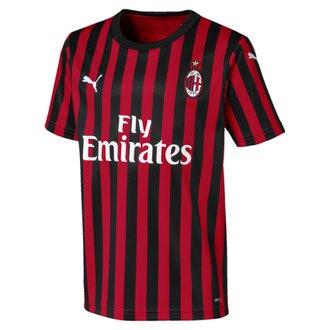 Puma AC Milan 2019-20 Youth Home Stadium Jersey