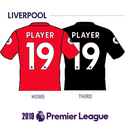 Liverpool 2019 Name Set