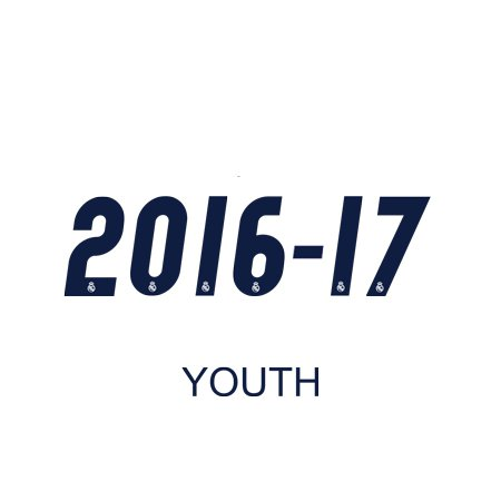 Real Madrid 2016 Youth Numbers