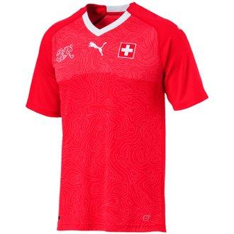 Puma Suisse 2018 World Cup Home Replica Jersey