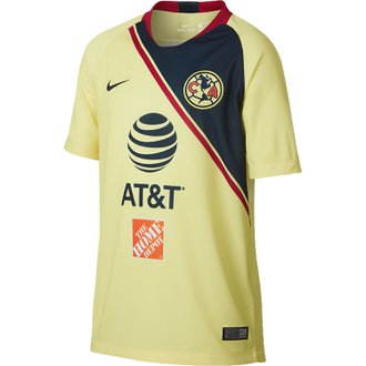 Nike Club America Home 2018-19 Youth Stadium Jersey