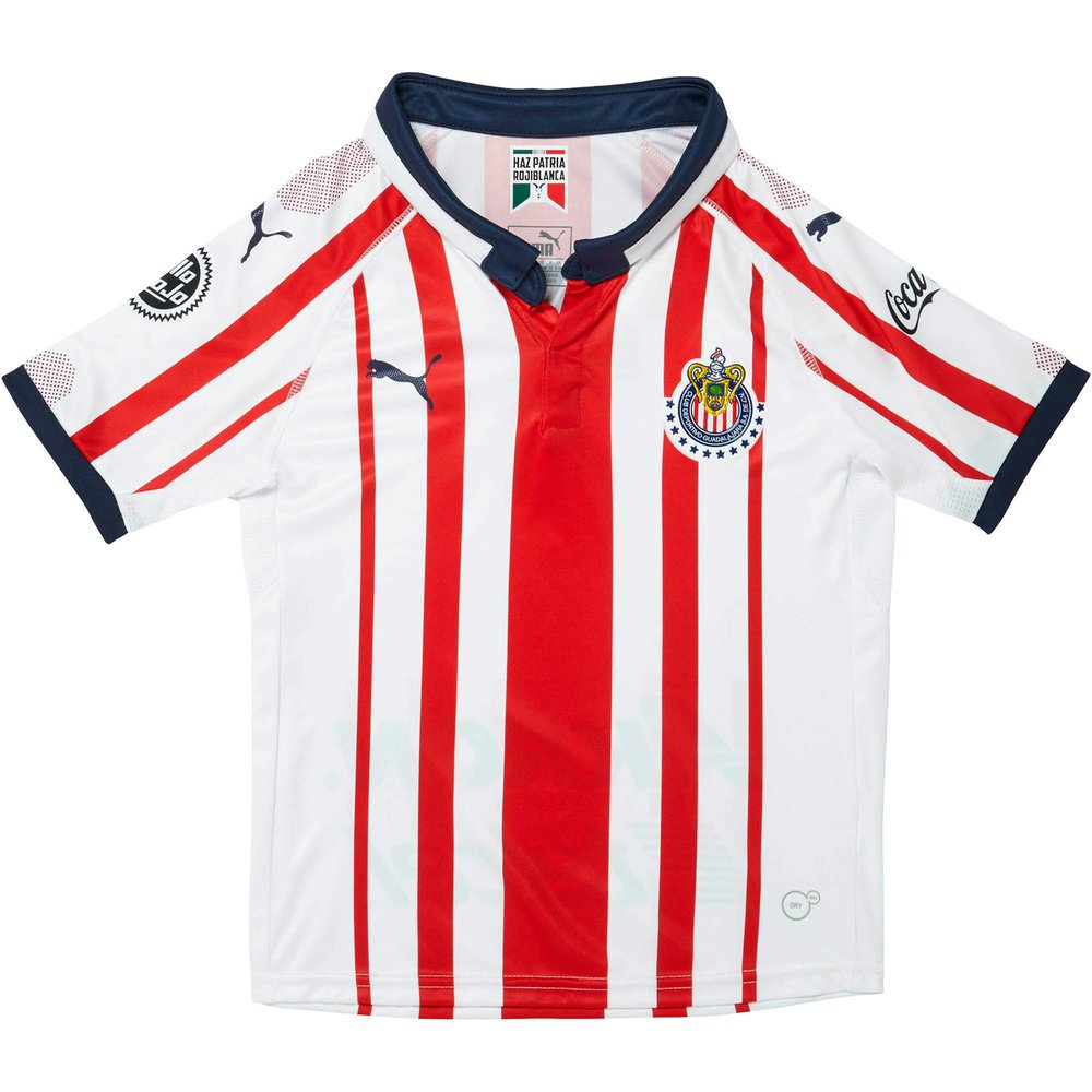 outlet store a2a06 7a1e6 Puma 18-19 Chivas Home Youth Jersey