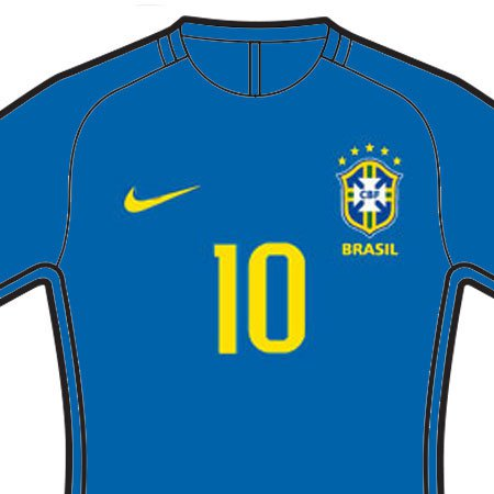 Brazil 2018 Front Numbers