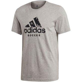 adidas Badge of Sport Soccer Short Sleeve Graphic Tee