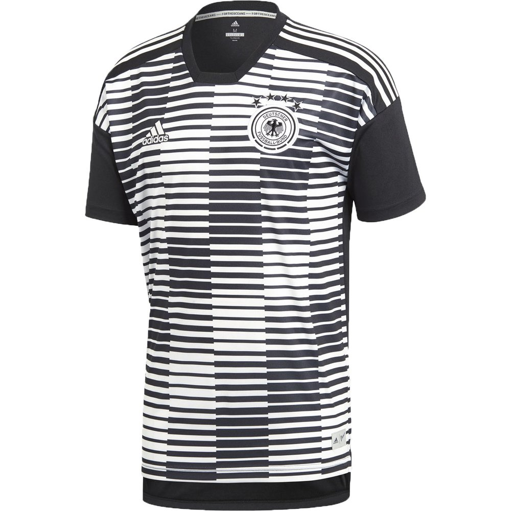 adidas Germany Home Parley Pre-Match Jersey   WeGotSoccer