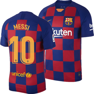 Nike FC Barcelona Messi Home 2019-20 Stadium Jersey