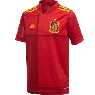 Adidas Spain 2020 Home Youth Stadium Jersey