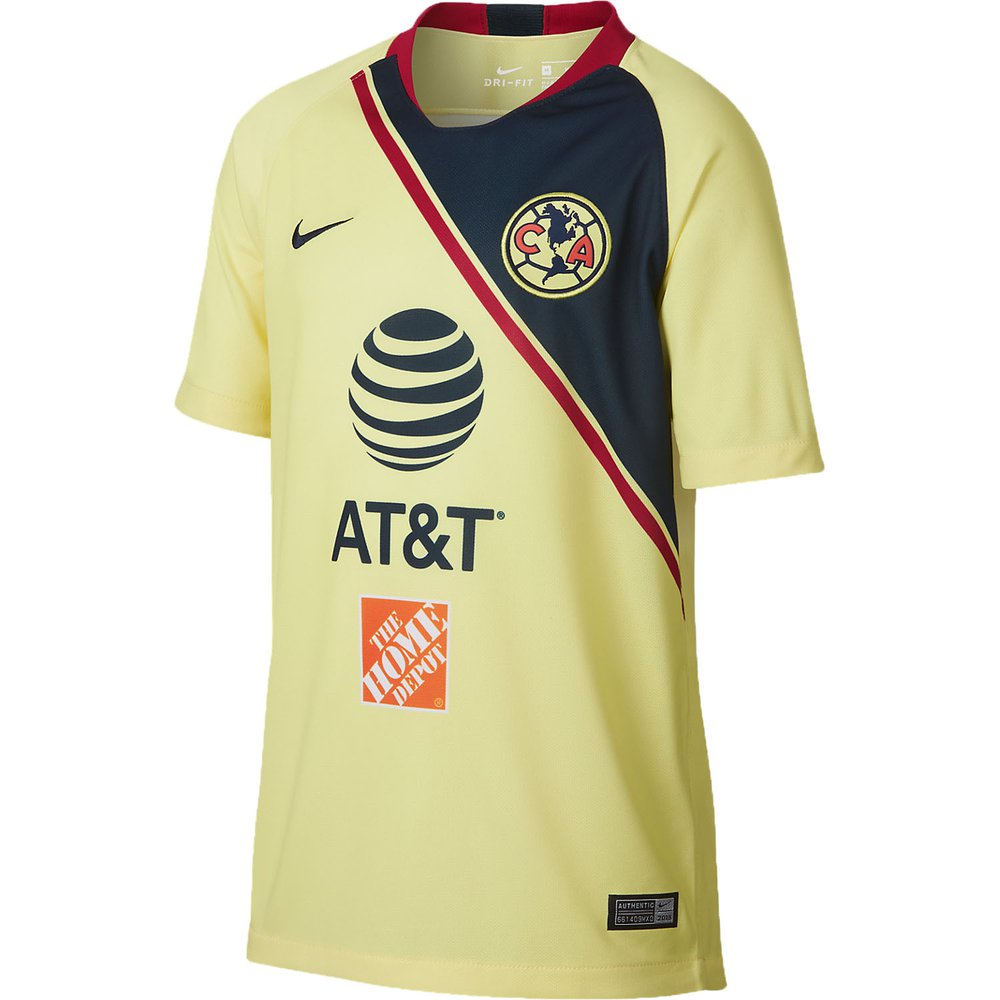 0f410b6e8 Nike Club America Home 2018-19 Youth Stadium Jersey