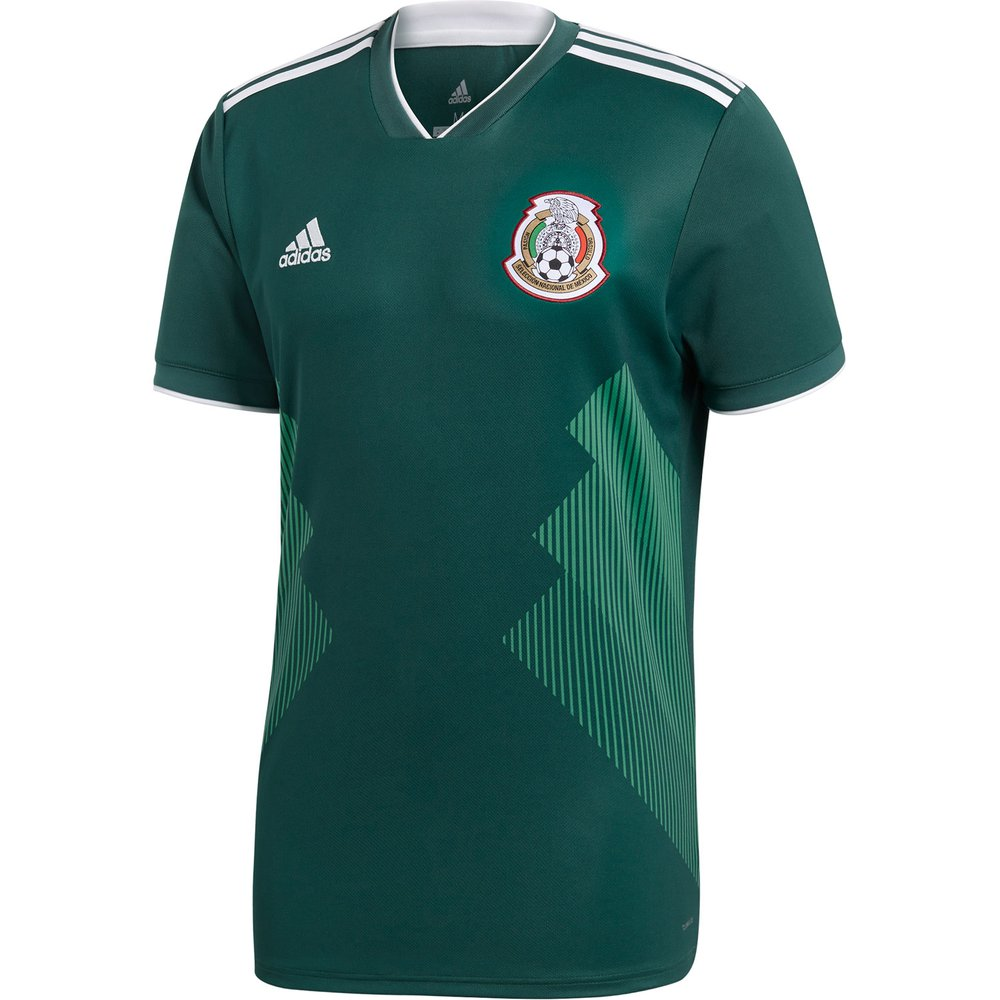 e86844ad8f4 adidas Mexico 2018 World Cup Home Replica Jersey | WeGotSoccer