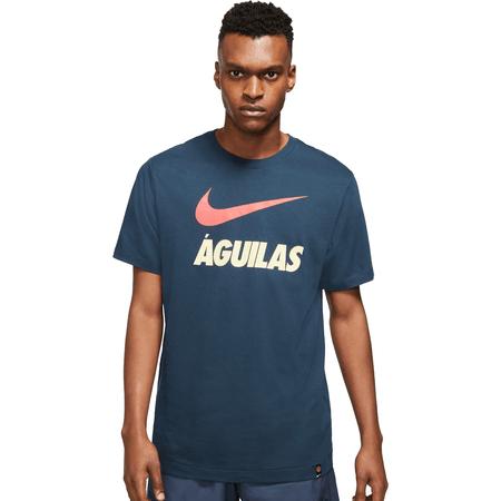 Nike Club América 2021-22 Camiseta Swoosh para Hombres