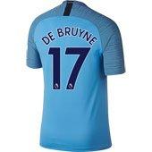 Nike Manchester City De Bruyne Home 2018-19 Stadium Jersey