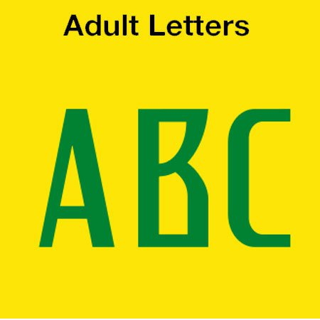 Brazil 2018 Adult Letters