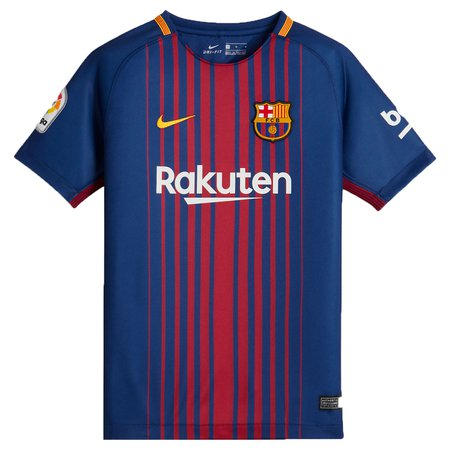 Nike FC Barcelona Home 2017-18 Youth Stadium Jersey