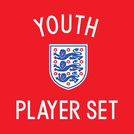 England 2016 Youth Player Set